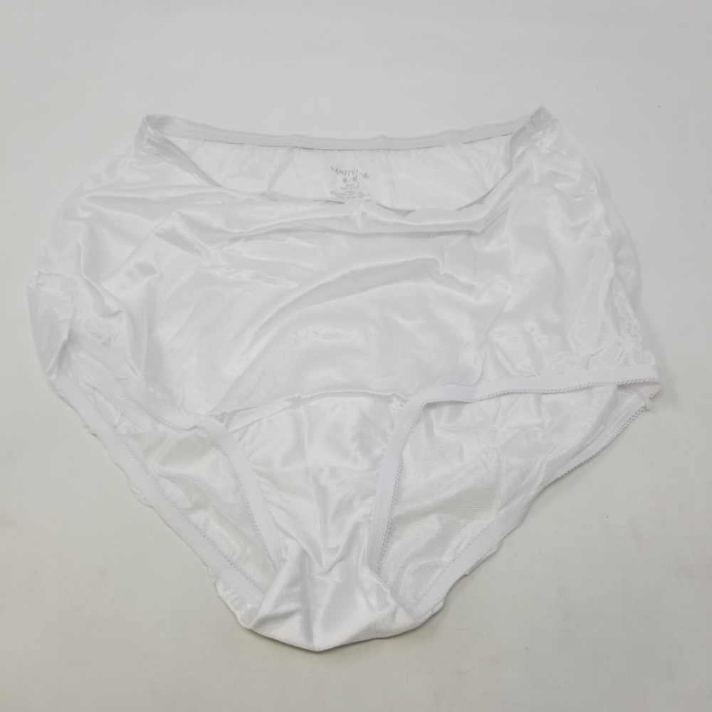 f326fb14757b Vanity Fair Womens Perfectly Yours Lace Nouveau Brief Panty 13001 Star  White M/6