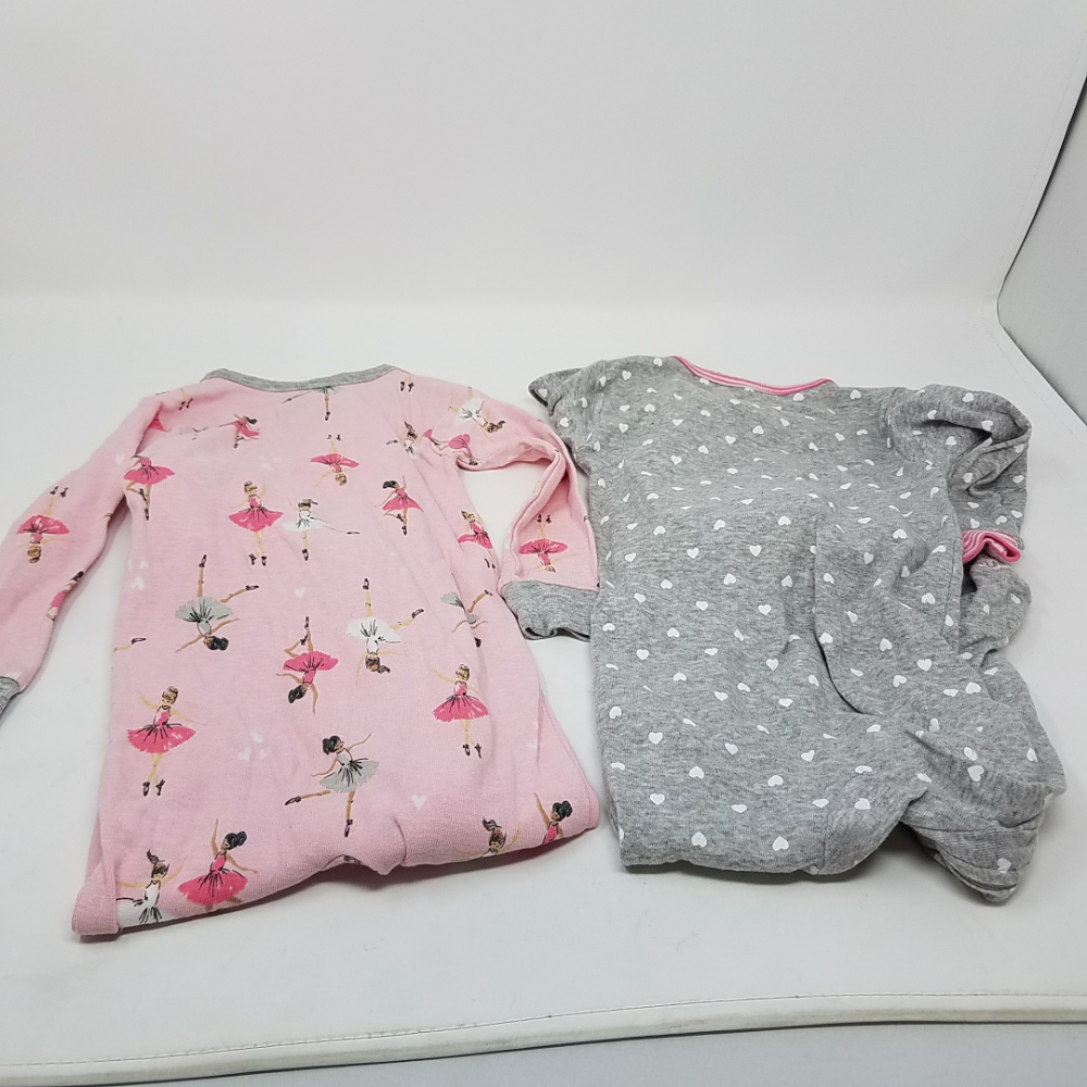 d788e332c Carter s Baby Girls  2-Pack Cotton Footed Pajamas